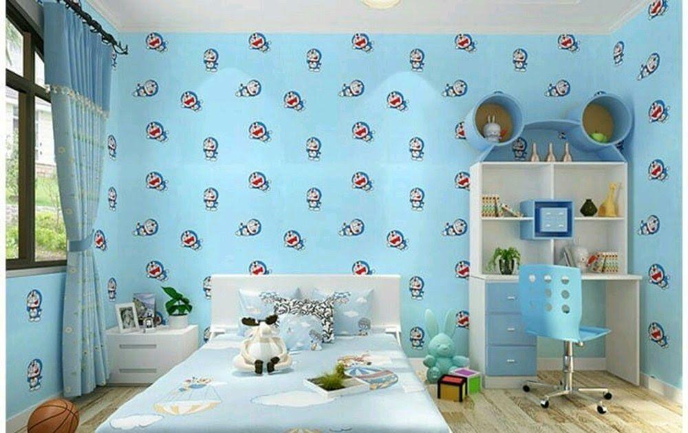 Dekorasi Cat Kamar Doraemon