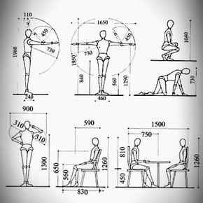 la antropometr a en el dise o de muebles dise o de