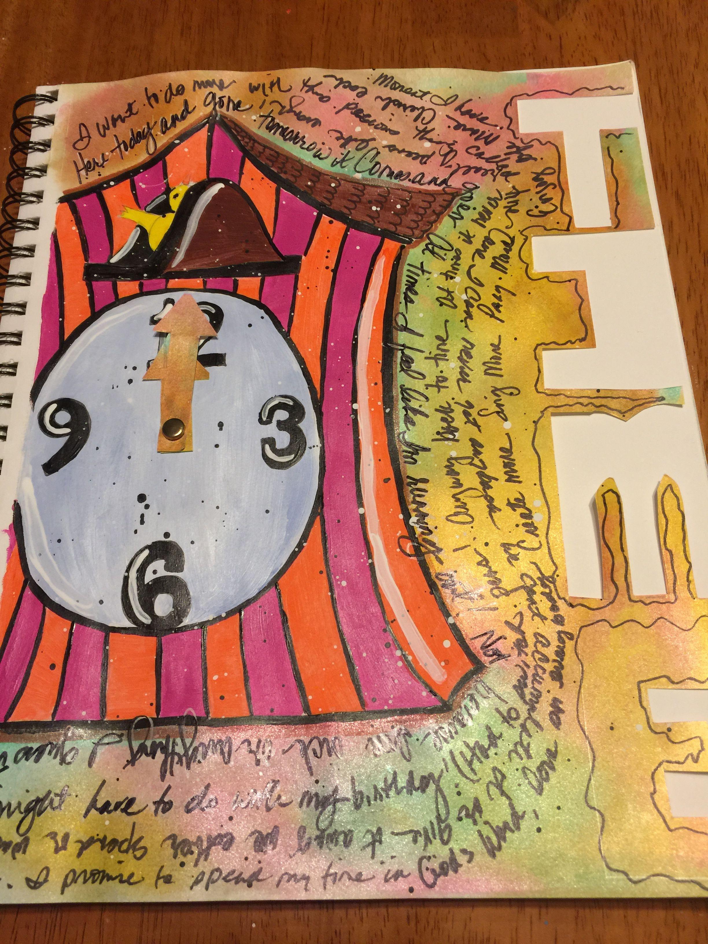 Bible art journaling image by adrienne rowesaulsbury