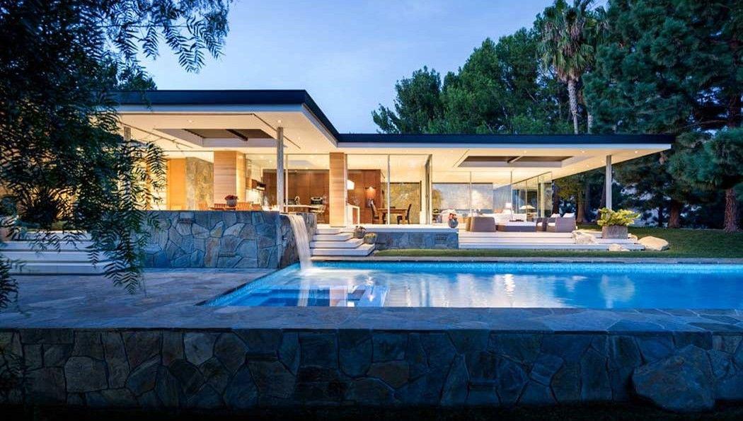 Rénovation très réussie pour cette maison contemporaine