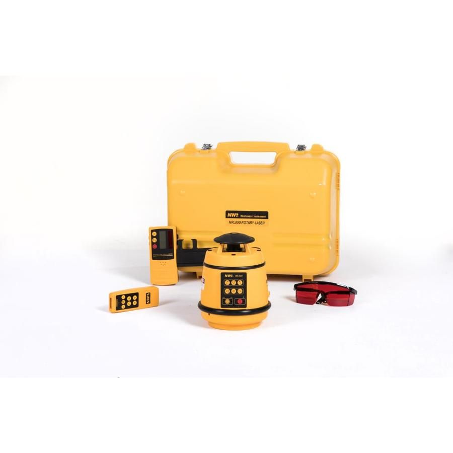 Nwi Nwi 2000 Ft Self Leveling Red Beam Rotary Laser Package Nrl800k Red Beam Beams Rotary