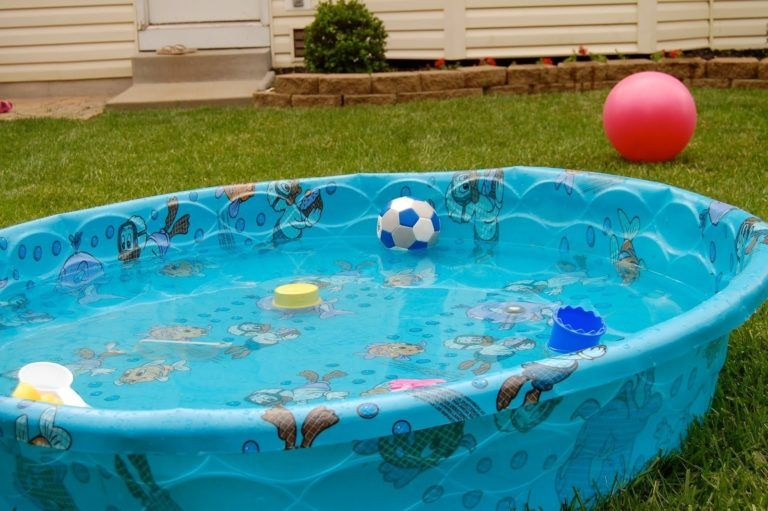 How To Build A Combo Plastic Kiddie Pool Firepit Plastic Baby