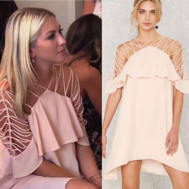 Stassi schroeder white dress