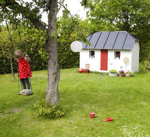 casita-jardin-1 DECORACION PARA JARDINES Pinterest Jardín para