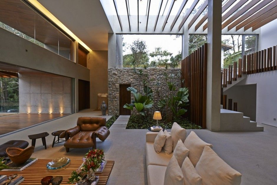Brazil house with luxe garden and outdoor living layout interior brazil house with luxe garden and outdoor living layout workwithnaturefo