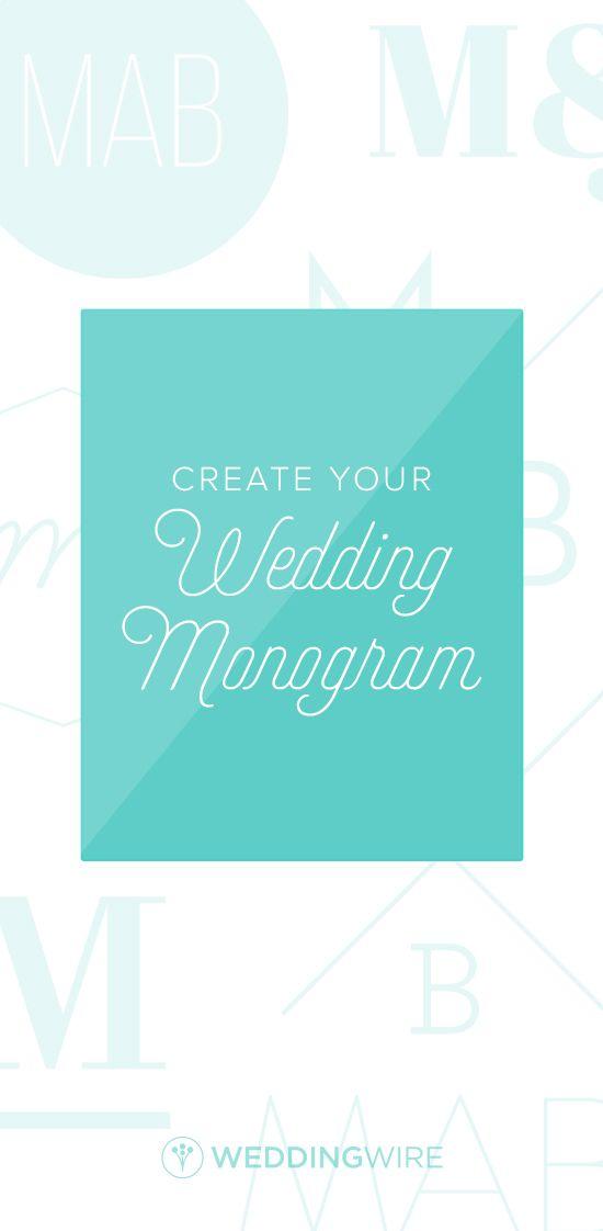 The Weddingwire Monogram Generator Wedding Wire Custom Wedding Monogram Monogram Generator