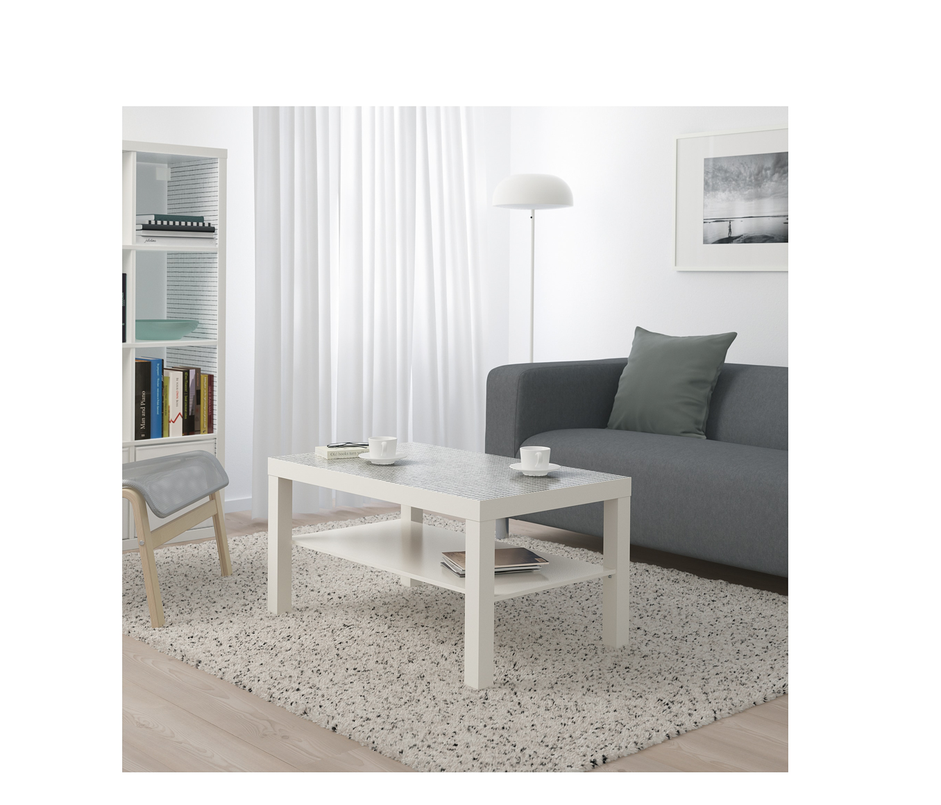 US Furniture and Home Furnishings Lack coffee table