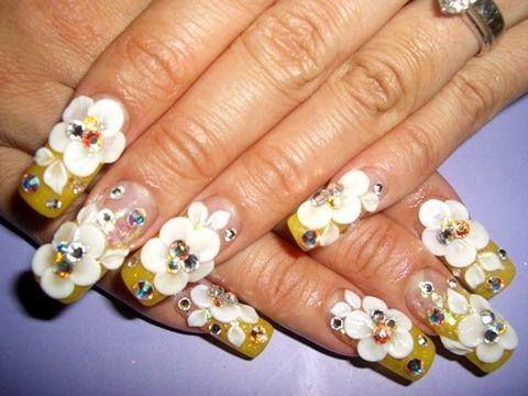 pinwill hall on dimensional nails  3d nail art