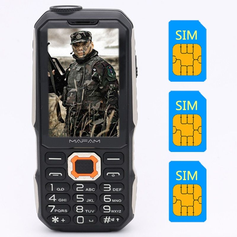 M3 Three Sim Card 2 8 3 Sim Card 3 Standby Mobile Phone Power