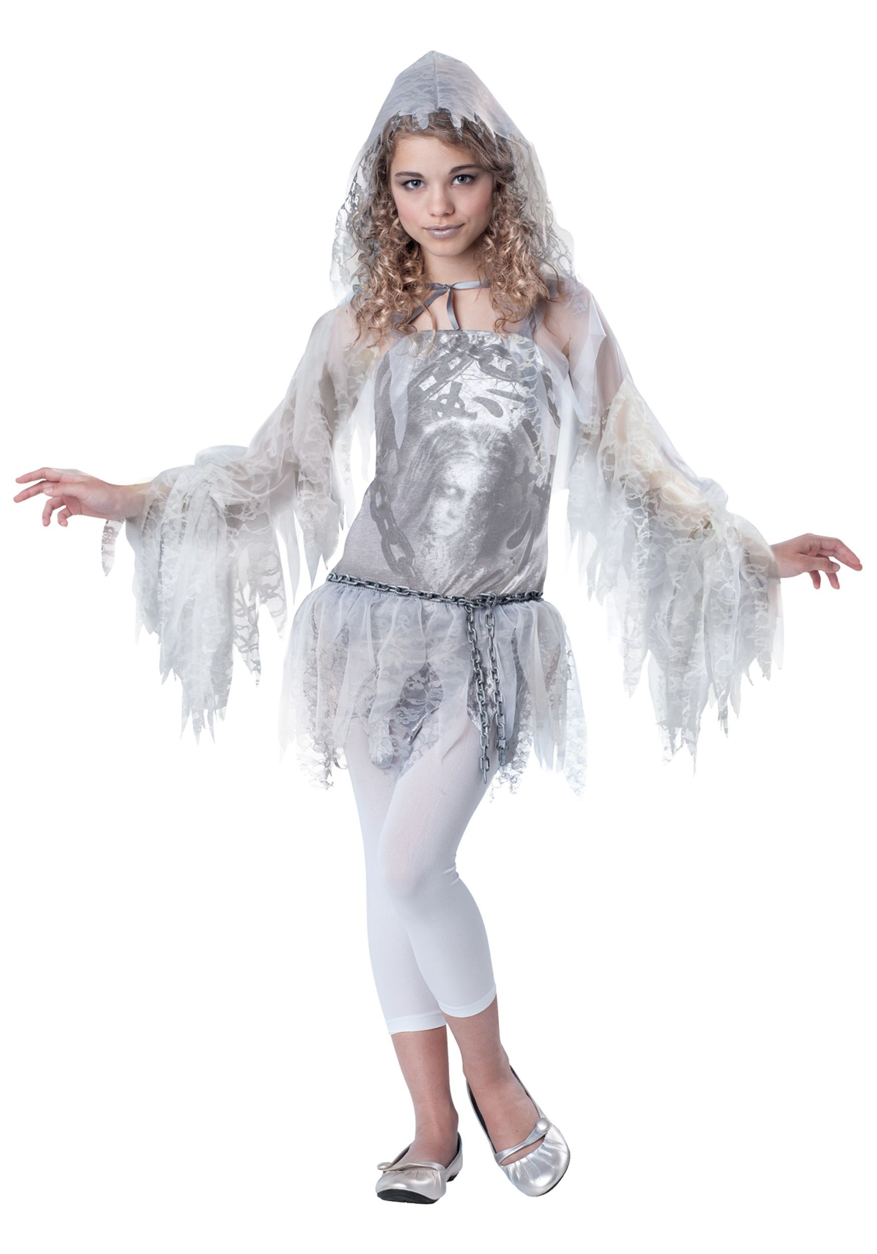 Tween Girls Sassy Spirit Costume | Tween costumes, Ghost costumes ...
