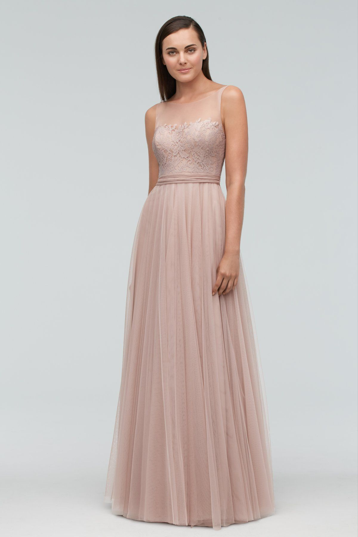 Watters Maids Dress Lisa | DRESS LISA STYLE 9623 | color blush ...