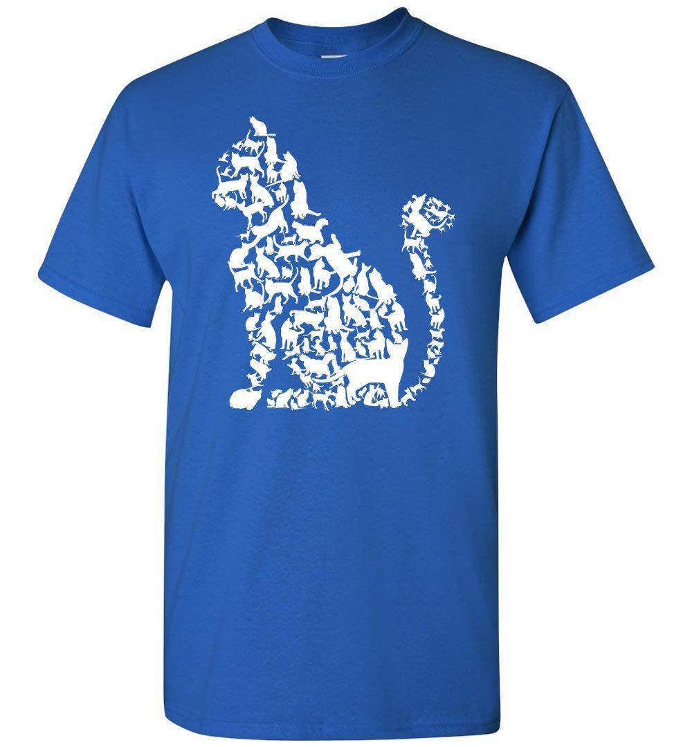 I Love Cats Shirt Cute Cat Shirt Cat Heart Sign Short Sleeve T