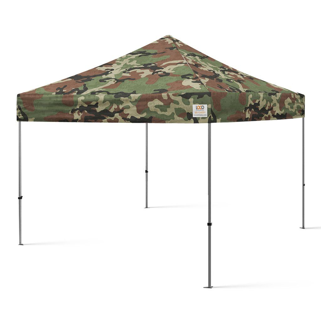 10 X10 Camo Army Style Canopy Army Fashion Canopy 10x10 Canopy