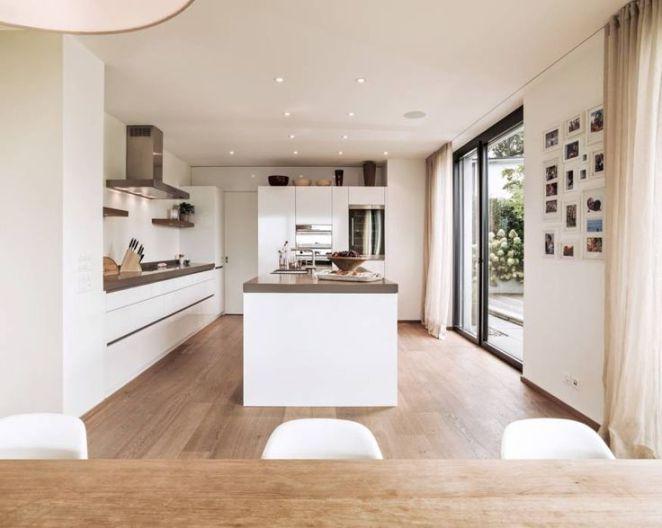 Idée relooking cuisine Cuisine de style de style Moderne par meier - offene küche mit insel