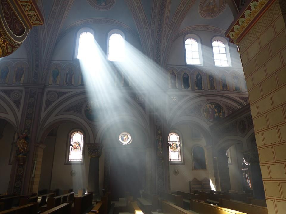 Image result for silence church