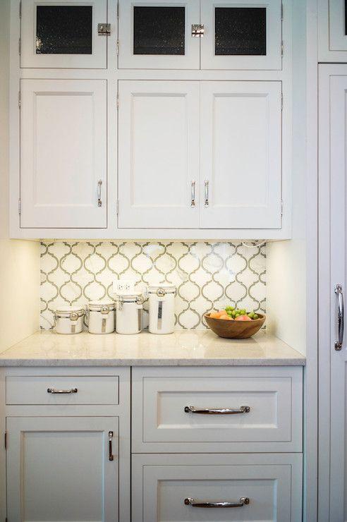 Moroccan Tile Backsplash Transitional Kitchen Kitchen Lab