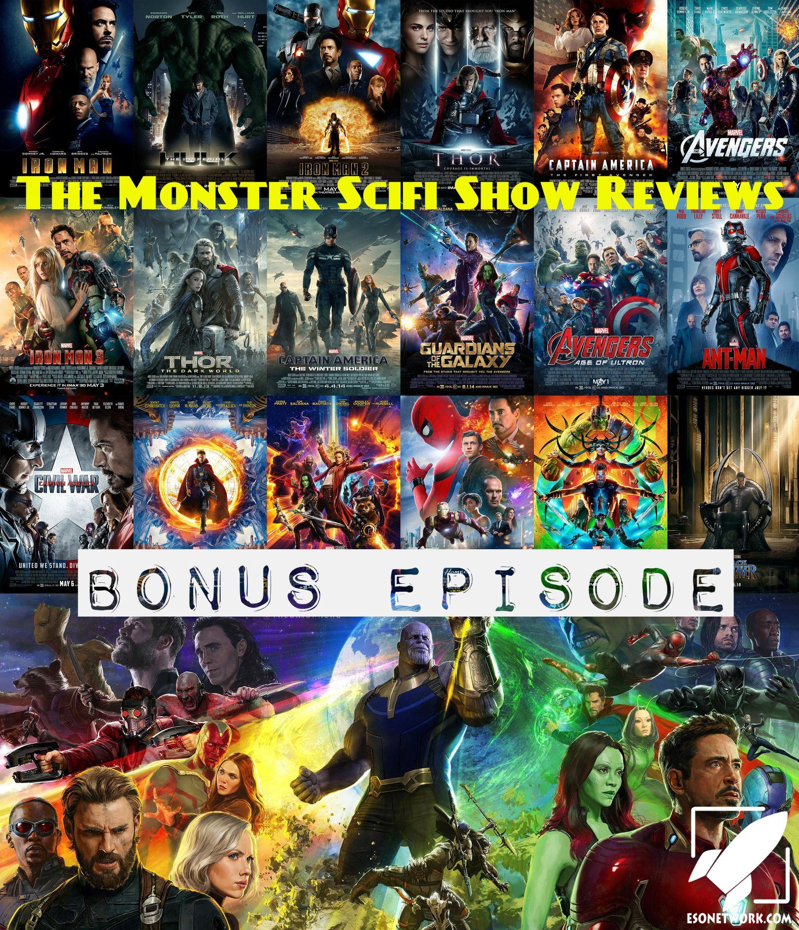 Podcast – 19 MCU Movies Ranked Bonus Episode | The Monster