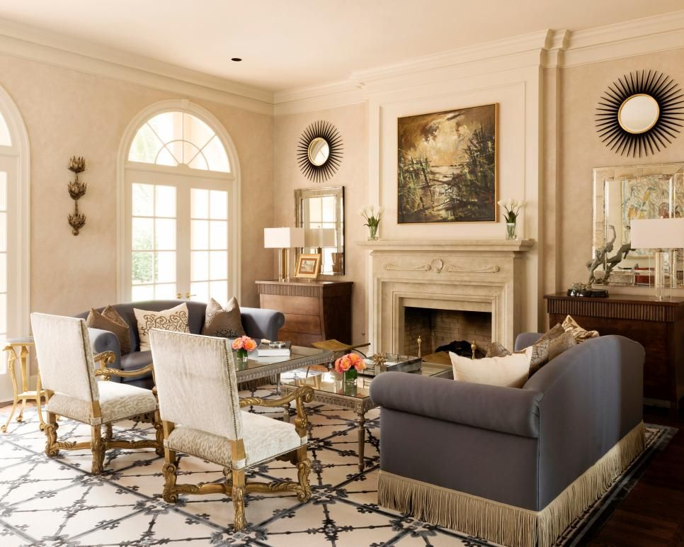 Traditional Living And Dining Rooms With Touch Of Whimsy Beauteous Interior Design Living Room Traditional Review