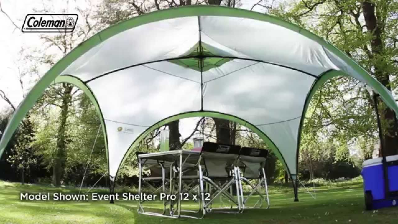 Coleman® Event Shelter Deluxe 15x15 - the ideal shelter ...