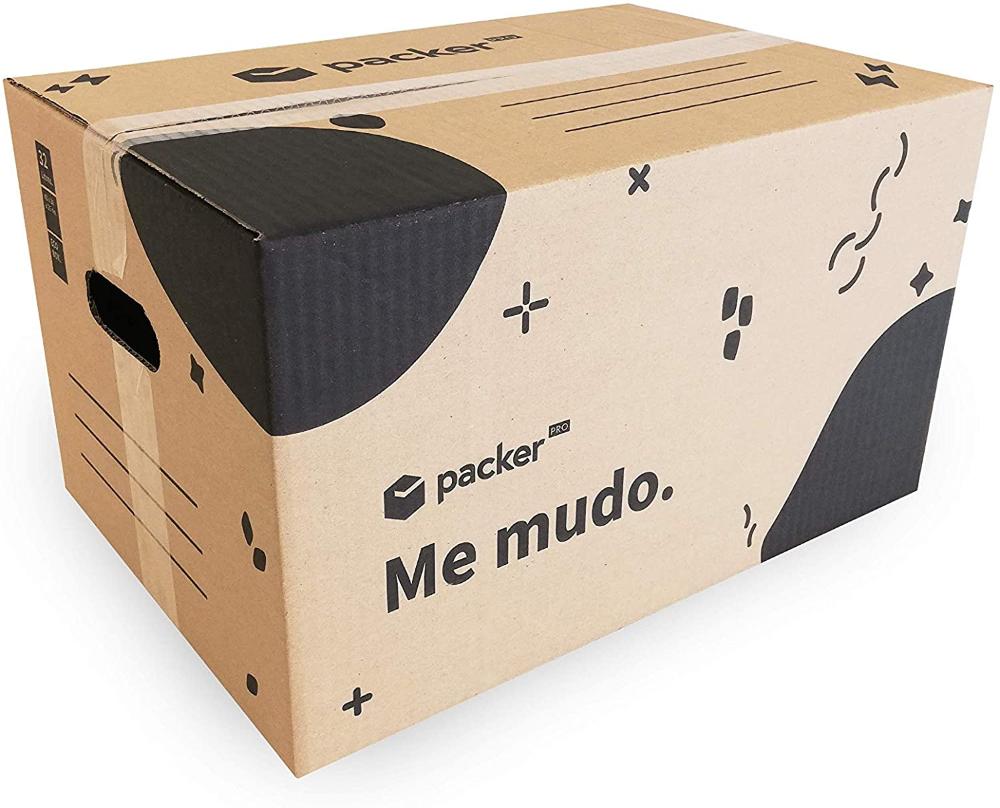 Boites En Carton Pour Demenagement Par Packerfy Amazon Fr Fournitures De Bureau En 2020 Boite En Carton Carton Demenagement Fourniture Bureau