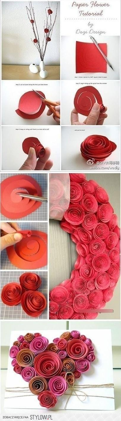 Liven up the place with this easy spiral paper flower tutorial liven up the place with this easy spiral paper flower tutorial pretty without the pollen and they wont die via dozi design crafts pinterest mightylinksfo Image collections