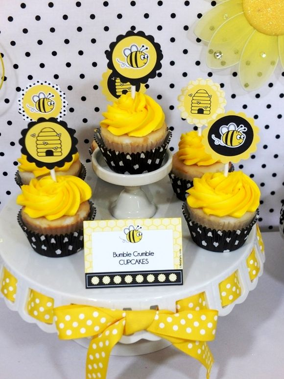 Honey Bumble Bee Themed Birthday Party With Tons Of Creative Food Ideas DIY Decorations