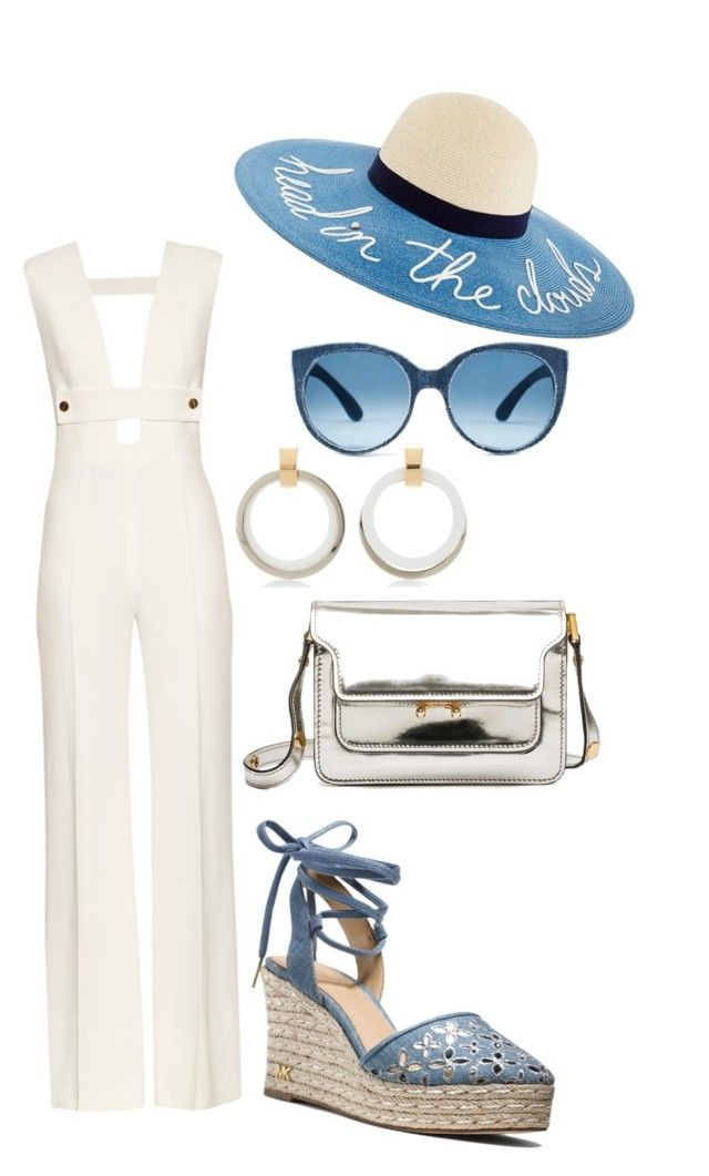 """""""Summer Time"""" by shrougsd on Polyvore featuring La Mania, MICHAEL Michael Kors and Marni"""