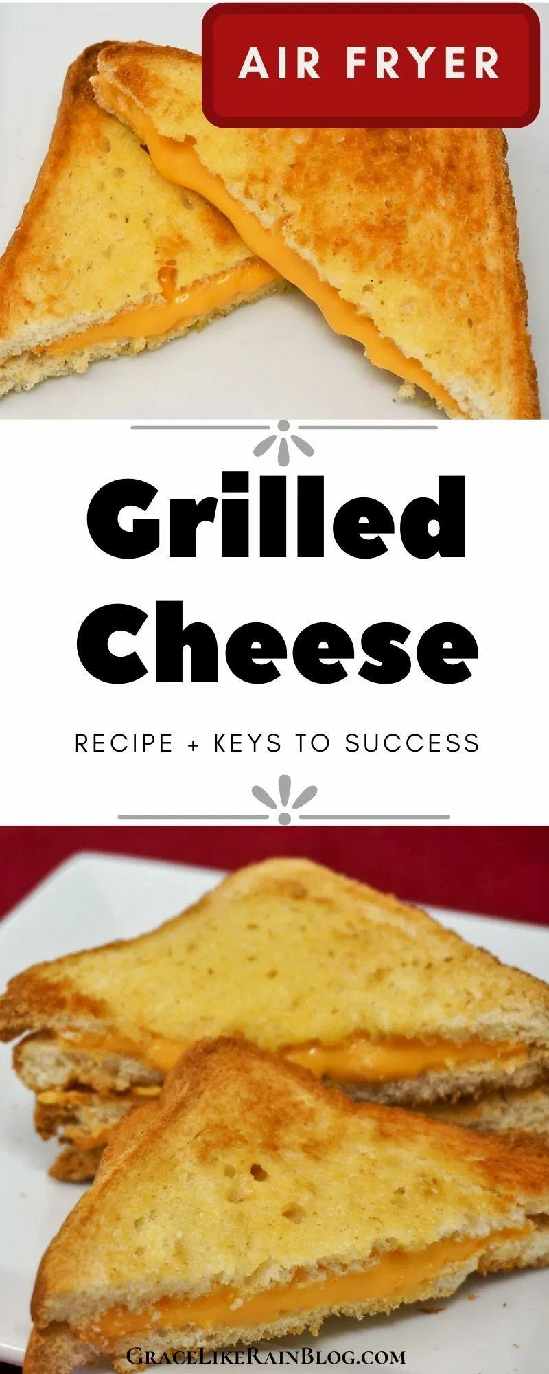 Air Fryer Grilled Cheese Sandwiches Recipe in 2020