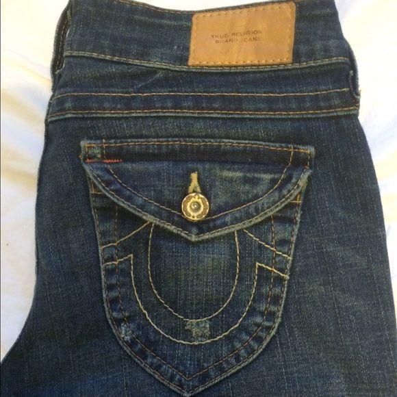 True Religion Jeans True Religion denim jeans. Straight leg True Religion Jeans Straight Leg