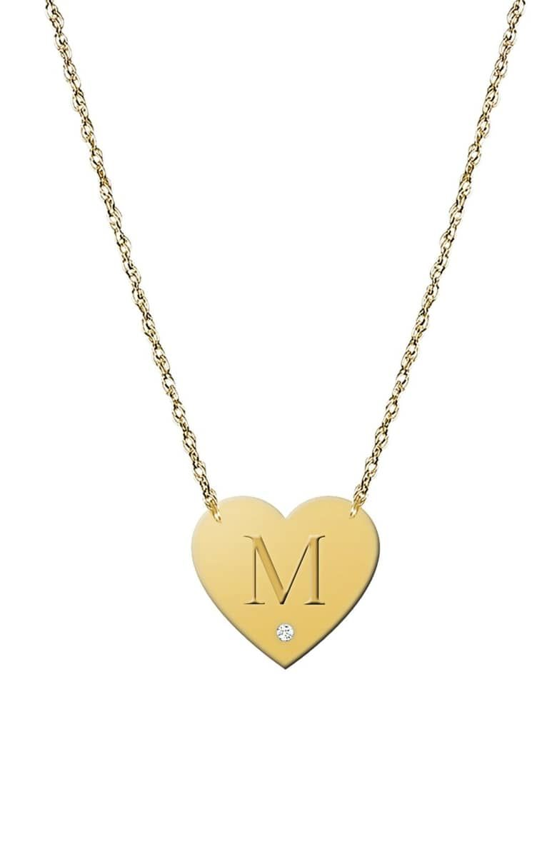 21++ Letter pendant necklace gold nordstrom ideas in 2021