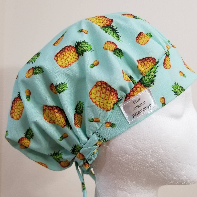 7a8c3ec446176 Celtic Irish Ireland Green Stripes - Handmade Scrub Hats