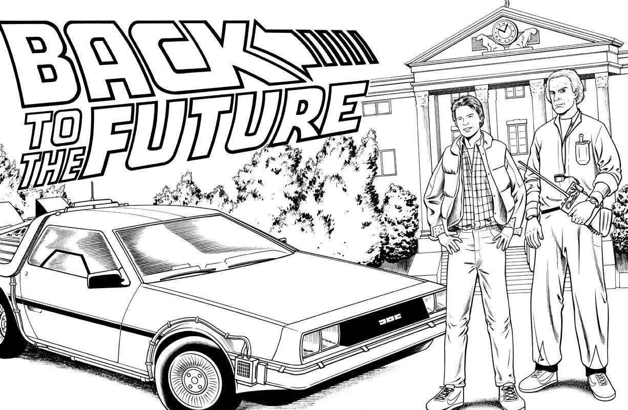 Back To The Future Back To The Future Party The Future Movie Back To The Future