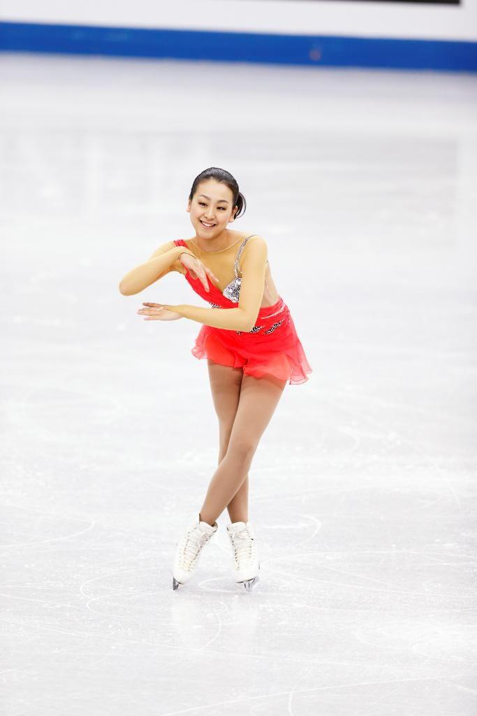 Mao Asada is back with @RisportSkates #figureskating #iceskating #emotion #passion #risport #maoasada