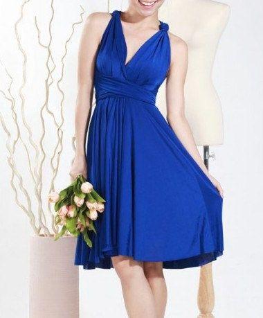 CUSTOM Convertible Bridesmaids wrap Dress by BlueberryEBoutique  $48