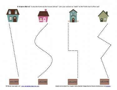 Free Worksheets : preschool cutting printables Preschool Cutting ...