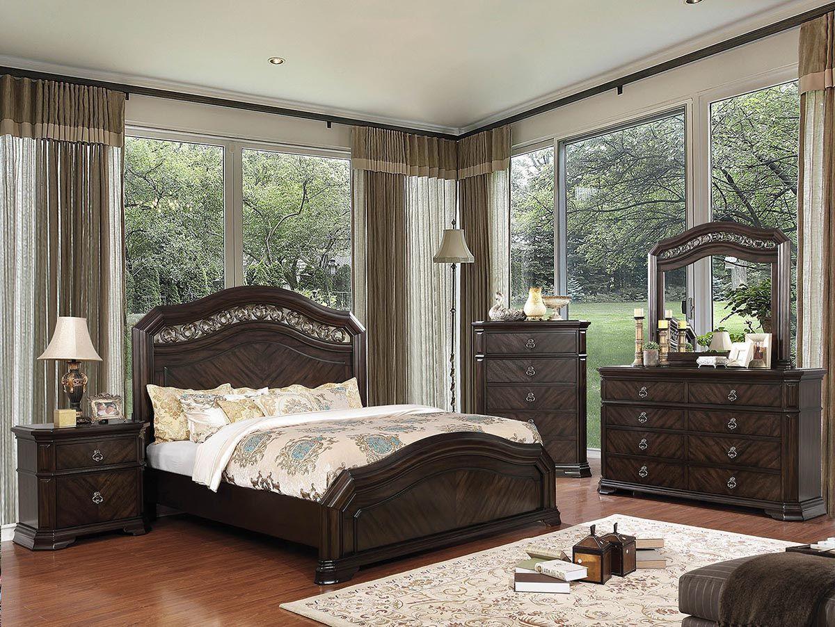 Furniture of America Calliope Bedroom in 2019 | Furniture in ...