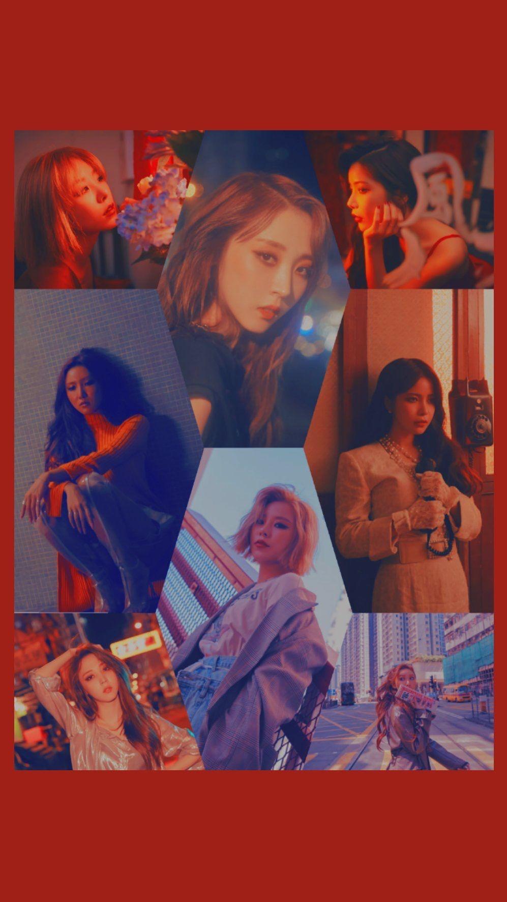 Wallpaper Mamamoo Wind Flower Mamamoo In 2019 Mamamoo Wallpaper