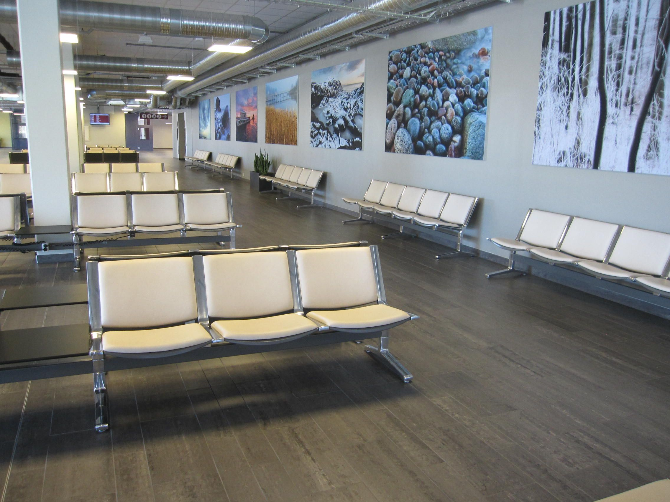 Airport Seating Benches