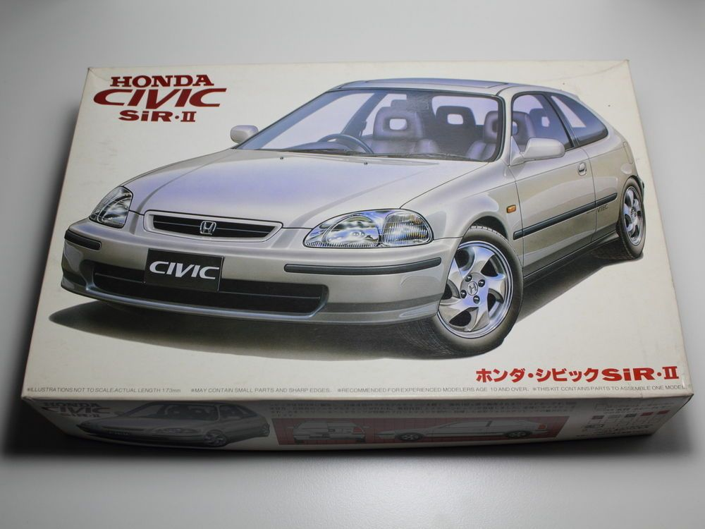 FUJIMI HONDA CIVIC SiR 2 MODEL KIT ID 31 EK4 1/24 JDM JAPAN