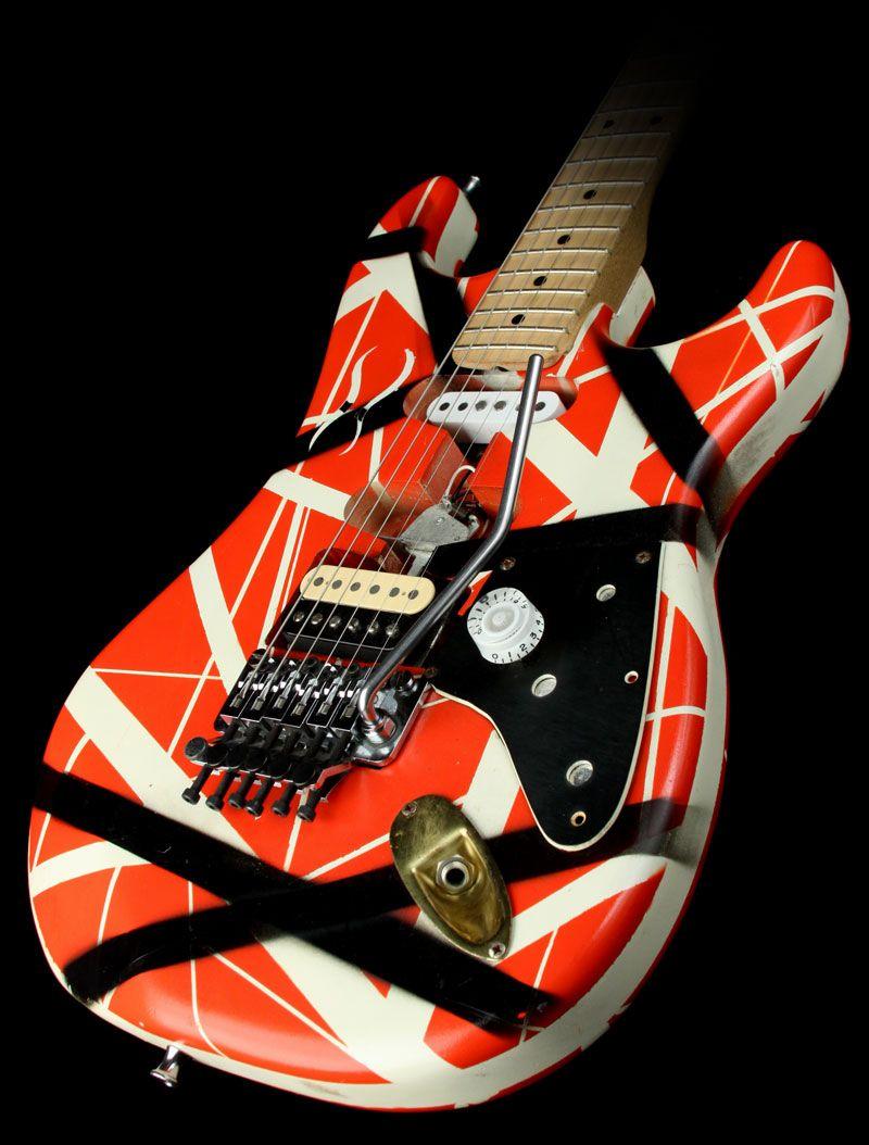 Pin By Charles Wilkin On Sweet Guitars Famous Guitars Music Guitar Van Halen