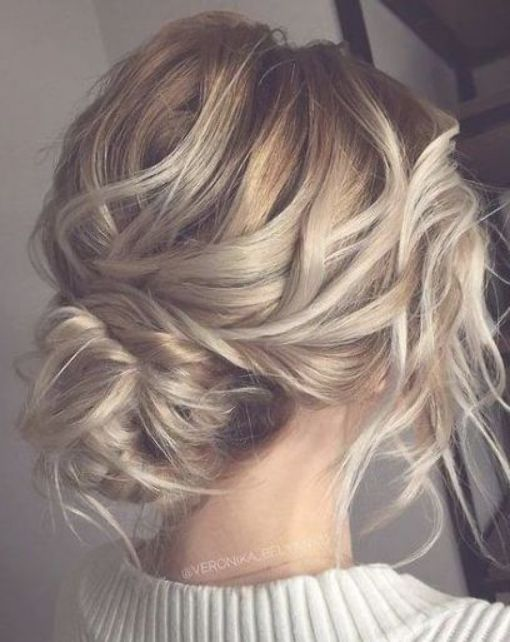 Wedding Hairstyles Updo Messy Boho Low Buns 56 Ideas Boho Buns Hairsty Wedding Hairstyles Updo Messy Updos For Medium Length Hair Medium Length Hair Styles