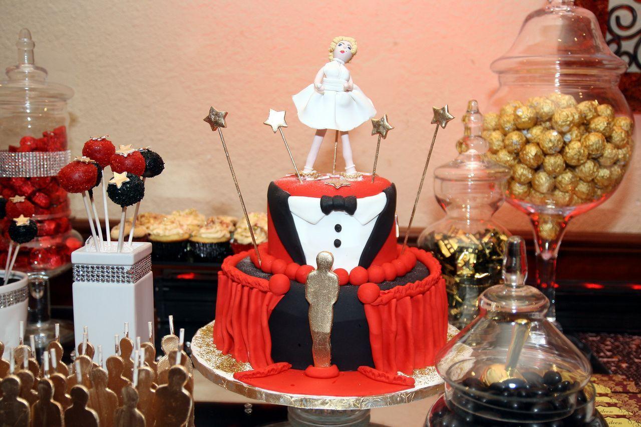 Marilyn Monroe Cake for Hollywood Party #LegallyEileen ...