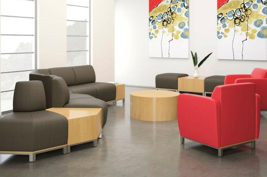 National Office Furniture Swift Lounge Seating In Collaborative Open Es Area