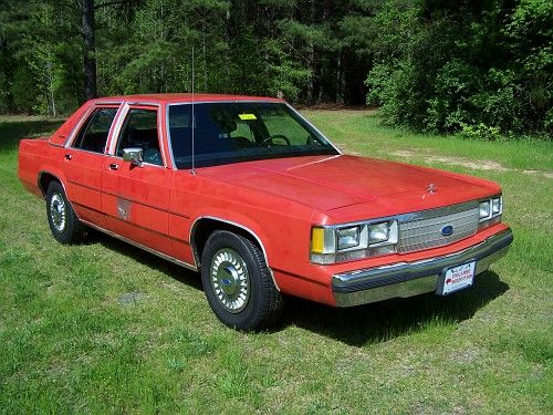 1991 Crown Vic P72, 351 V8/4sp Auto/3.08 TracLok