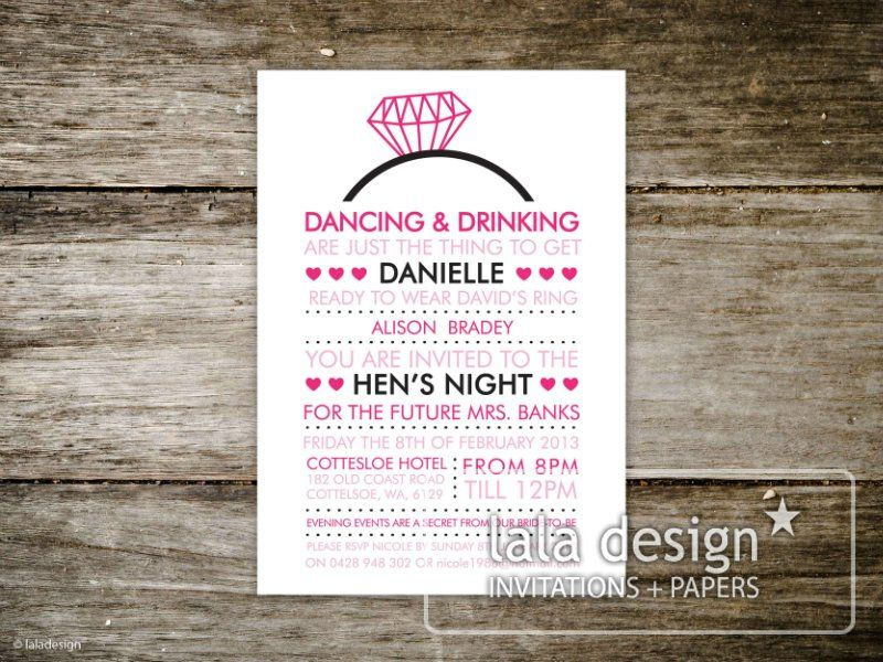 Hens night invites wording google search invites pinterest hens night invites wording google search stopboris Choice Image