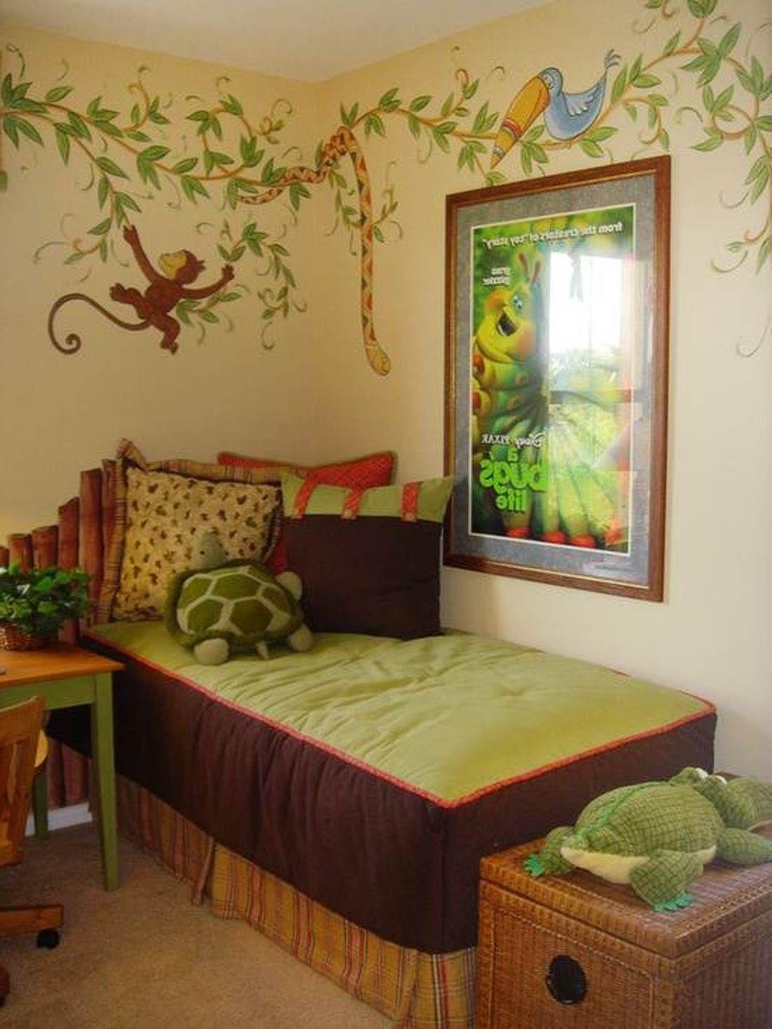 Jungle Little Boy Bedroom Ideas : Awesome Little Boys