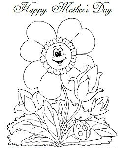 Mothers Day Coloring Pages Frugalfreebiesanddeals