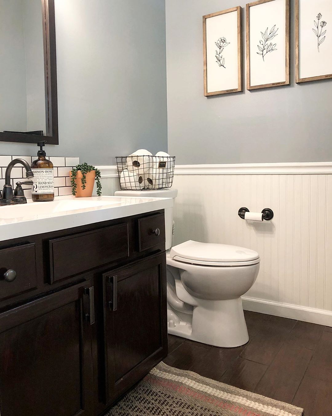 Jen Our Haven Bliss On Instagram Happy Friday Anyone Else Feel Like May Is Craz Sherwin Williams Paint Colors Guest Bathroom Small Guest Bathroom Remodel
