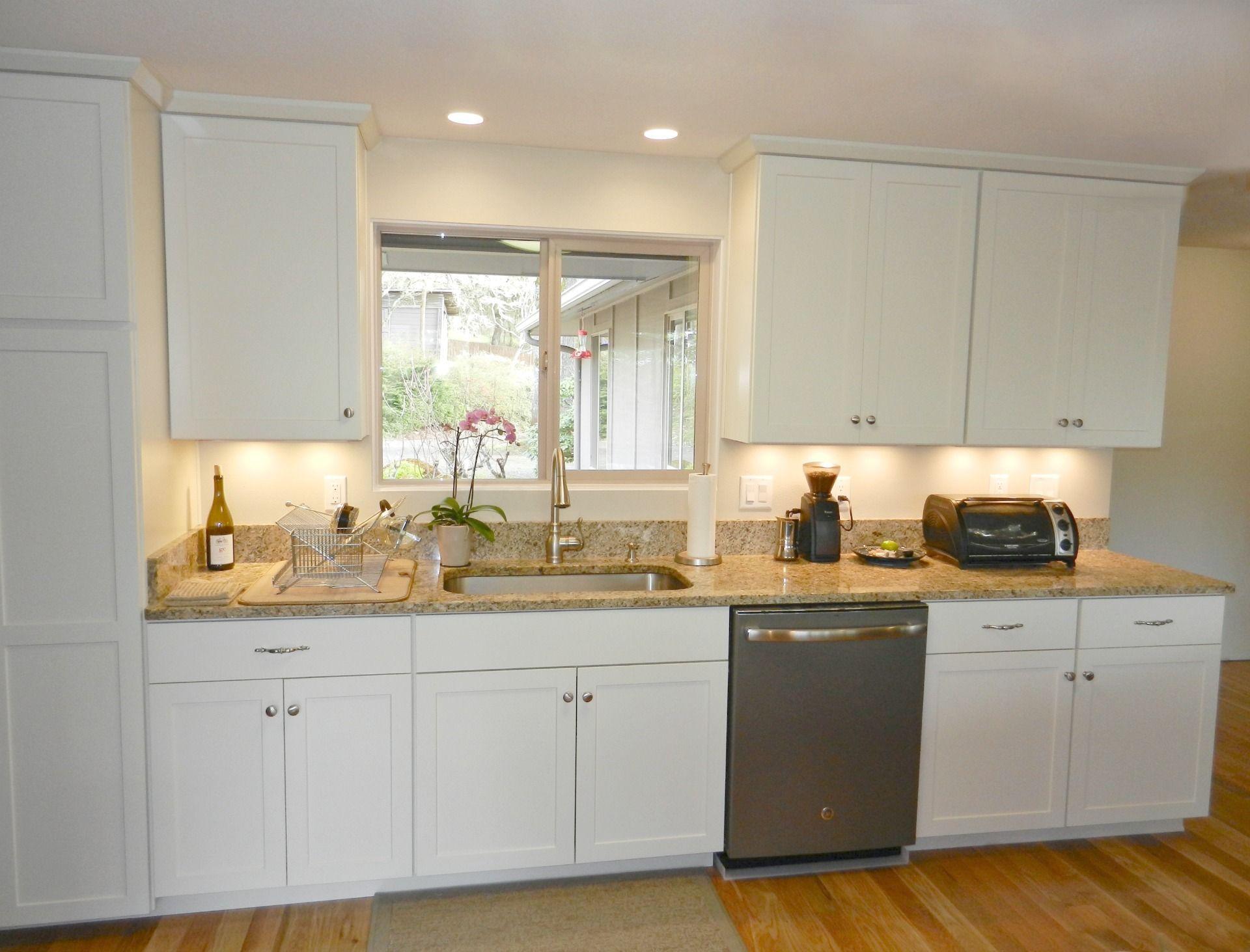 a light color palette compliments a bright open floor plan