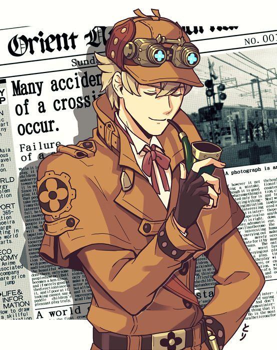 554x700 551kB Sherlock, Anime